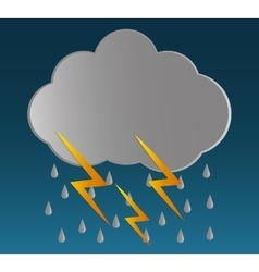 Rain icon design vector