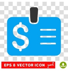 Dollar badge icon vector
