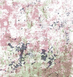 grunge scratched background vector image