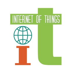 internet of things vector image