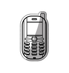 Cellphone mobile technology vector