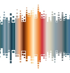 Abstract colorful gradient indicator vector