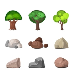 Decoration elements set vector