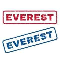 Everest rubber stamps vector