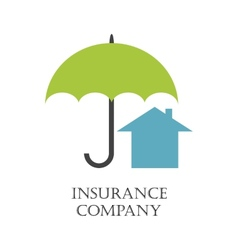 Real estate insurance vector image
