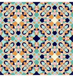 seamless ornate geometric pattern abstract backgro vector image vector image