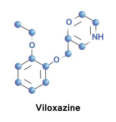 viloxazine is a morpholine derivative vector image