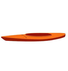 Kayak vector image