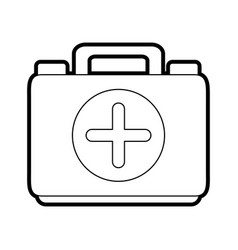 Medical health kit vector