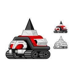 Robot Turtle vector image vector image