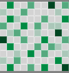 Green tile texture vector