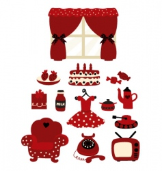 Household goods vector