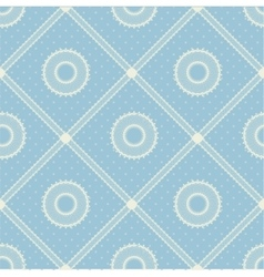 Seamless pattern with lace ribbon vector