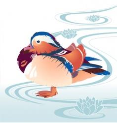 acquatic background vector image