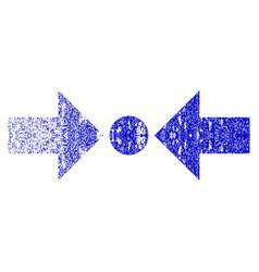 pressure horizontal grunge textured icon vector image