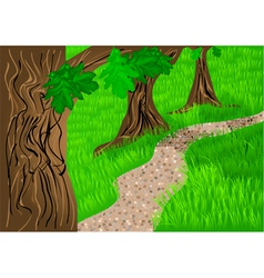 Path and trees vector
