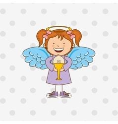cute angel design vector image