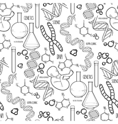 Genetic research pattern vector