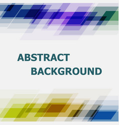 Abstract geometric overlapping dark tone vector