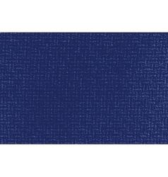 Distress blue thread vector