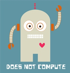 Does Not Compute vector image vector image