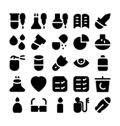 Science icons 11 vector