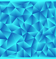 bright blue polygonal background vector image