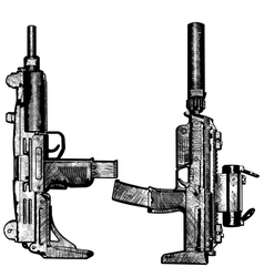 Combat weapons 2 vector