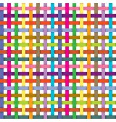 ribbons pattern vector image
