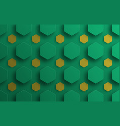 template background with floating green and vector image