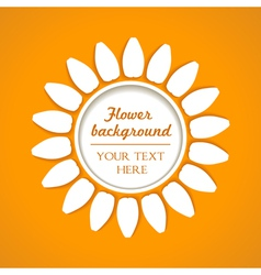 Flower blend background vector