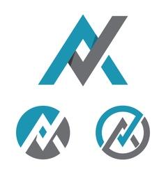 Letter Logo Template vector image