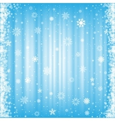 The snowy background vector