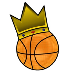 King basketball vector
