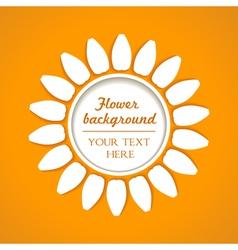 flower blend background vector image vector image