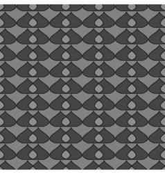 Seamless pattern flower abstract 10-08 vector image