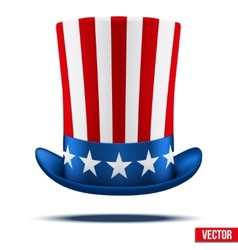 Uncle Sams hat vector image vector image