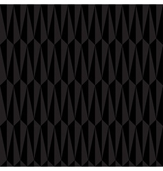 Black Abstract Geometric Seamless Pattern vector image vector image