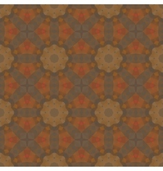 Kaleidoscope abstract colorful vintage pattern vector image vector image