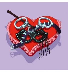 Valentines beds vector