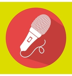 Microphone speak talk audio vector