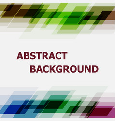 Abstract dark tone geometric overlapping design vector