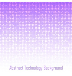 Abstract Violet Technology Background vector image
