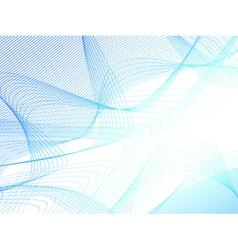 Abstract light blue rosette background vector