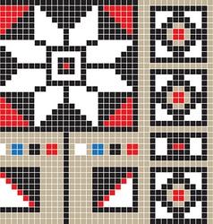 Botosani pattern vector