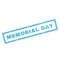 Memorial day rubber stamp vector