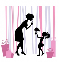 Mother's Day design vector image vector image