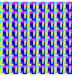 Geometric pattern art vector