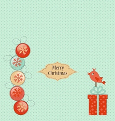 Christmas 041 sm vector image vector image