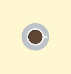 flat icon cup element of flat vector image